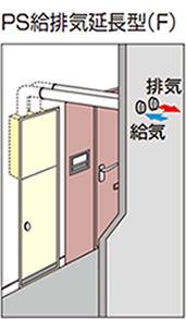 PS給排気延長型(F)